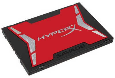 "240GB 2.5"" Kingston HyperX Savage SHSS37A/240G SATA III 6.0 Gb/s Solid State Disk (SSD)"